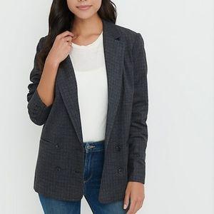 Lucky Brand Gray Menswear Oversized Blazer S,M,XL